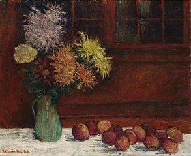 Blanche Hoschedé-Monet: Stilleben mit Äpfeln