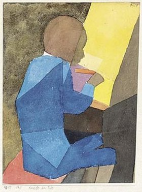 Paul Klee: Knabe am Pult