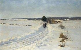 Sigvard Marius Hansen: Ein Wintermorgen