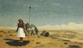 Jean-Léon Gérome: Das Gebet in der Wüste