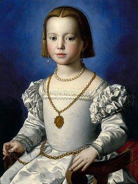 Agnolo Bronzino: Bia de Medici, Tochter der Herzogin Eleonora von Toledo und Cosimo I