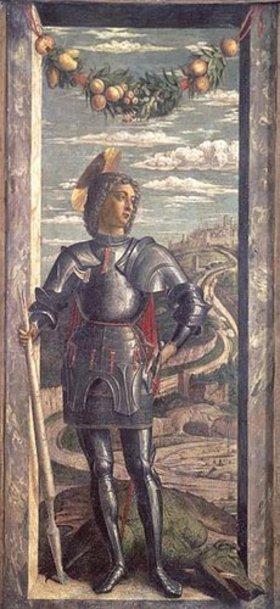 Andrea Mantegna: Der Heilige Georg