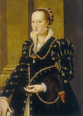 Agnolo Bronzino: Bildnis von Laudomia de Medici