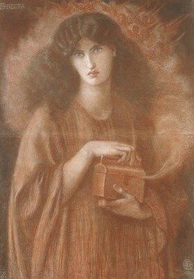 Dante Gabriel Rossetti: Pandora