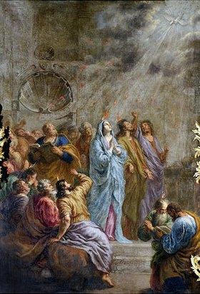 Joachim von Sandrart: Herabkunft des Heiligen Geistes