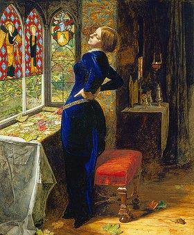 Sir John Everett Millais: Mariana in the moated grange