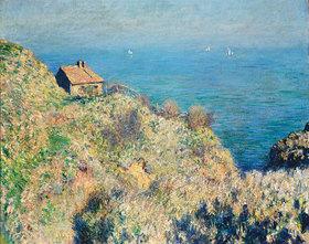 Claude Monet: Das Haus des Douaniers in Varengeville