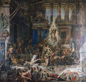 Gustave Moreau: Die Freier. Ab