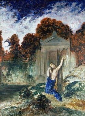 Gustave Moreau: Orpheus am Grabe Eurydikes