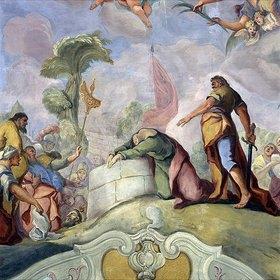 Otto Gebhard: Enthauptung des hl. Paulus