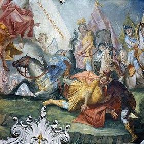 Matthäus Günther: Bekehrung des hl. Paulus vor Damaskus