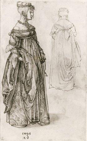 Albrecht Dürer: Frau in venezianischem Kostüm