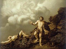 Kain ermordet Abel (nach einem Original von C.W. E. Dietrich, Alloli Bibel)