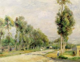 Auguste Renoir: Chaussee bei Louvecienne