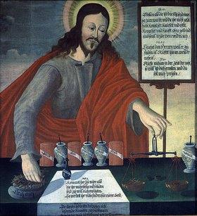 Unbekannter Künstler: Christus als Apotheker