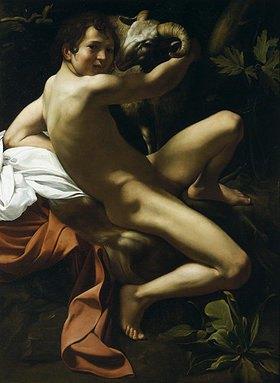 Caravaggio: Johannes der Täufer
