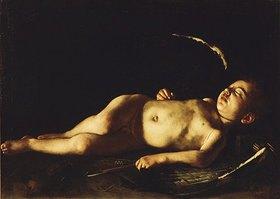Caravaggio: Schlafender Amor