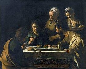 Michelangelo Merisi da Caravaggio: Das Gastmahl in Emmaus