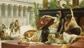Alexandre Cabanel: Kleopatra testet das Gift an zum Tode Verurteilten