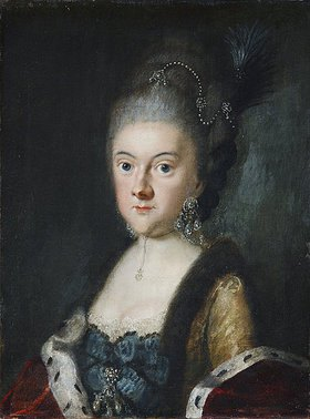 Johann Ernst Heinsius: Anna Amalia Herzogin von Sachsen-Weimar-Eisenach