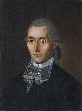 Unbekannter Künstler: Johann Jost Textor. Um oder nach