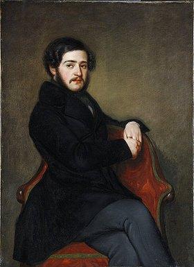 Unbekannter Künstler: Augustin von Hofmannsthal. Mitte 19. Jh