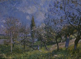 Alfred Sisley: Der Baumgarten