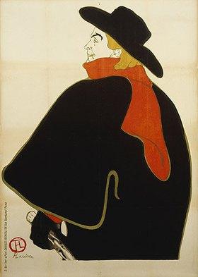 Henri de Toulouse-Lautrec: Aristide Bruant in seinem Kabarett