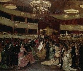 Franz Skarbina: Der Opernball