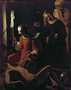 Georges de La Tour: Die Auffindung des Heiligen Sebastian