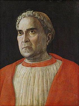 Andrea Mantegna: Kardinal Lodovico Trevisano (1401-1465)