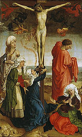 Rogier van der Weyden: Christus am Kreuz