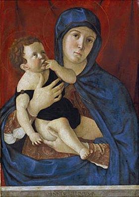 Giovanni Bellini: Maria mit dem Kind