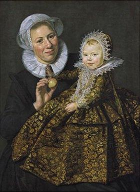 Frans Hals: Catharina Hooft mit ihrer Amme (Die Amme mit dem Kind)