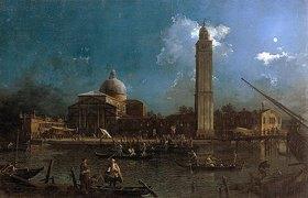 Canaletto (Giovanni Antonio Canal): La Vigilia di San Pietro. Zwischen 1758 und
