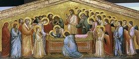 Giotto di Bondone: Die Grablegung Mariae