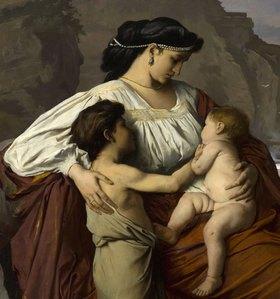 Anselm Feuerbach: Medea (Detail: Kinder)