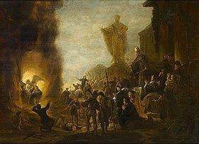 Jacob de Wet: Die Jünglinge im Feuerofen