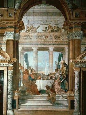 Giovanni Battista Tiepolo: Das Gastmahl der Kleopatra