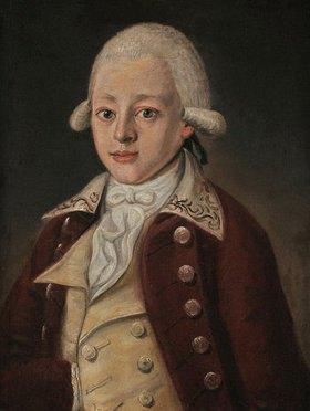 Unbekannter Künstler: Wolfgang Amadeus Mozart