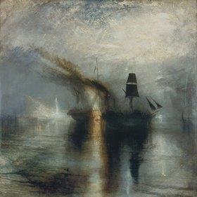 Joseph Mallord William Turner: Frieden. Beisetzung auf See