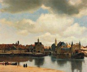 Jan Vermeer van Delft: Ansicht der Stadt Delft