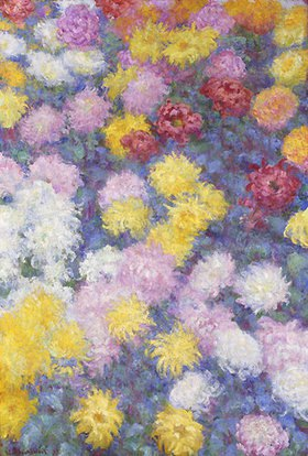 Claude Monet: Chrysanthemen