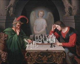 Friedrich August Moritz Retzsch: Die Schachspieler