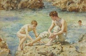 Henry Scott Tuke: Badende