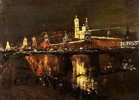 Isaak Iljitsch Lewitan: Der beleuchtete Moskauer Kreml