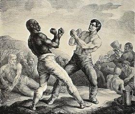 Théodore Géricault: Boxeurs / Faustkämpfer