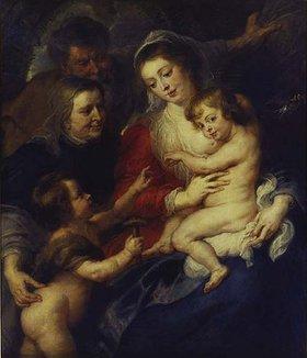 Peter Paul Rubens: Die heilige Familie mit der heiligen Elisabeth und dem Johannesknaben
