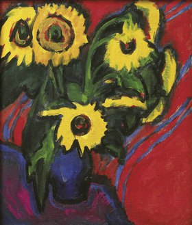 Ernst Ludwig Kirchner: Sonnenblummen