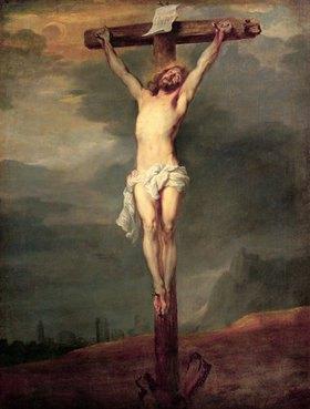 Anthonis van Dyck: Christus am Kreuz
